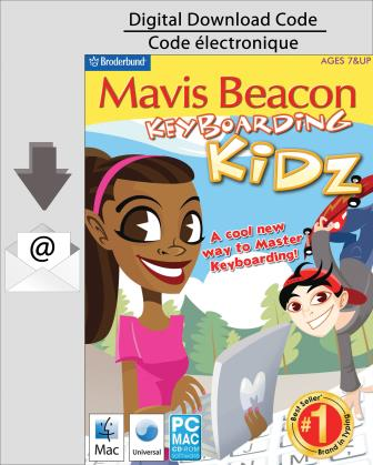 PC Mavis Beacon Keyboarding Kidz [Download]