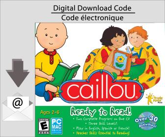 PC Caillou Ready To Read [Download]