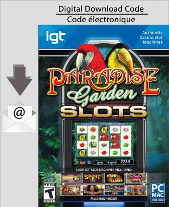 PC IGT Slots Paradise Garden [Download]