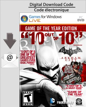 PC Batman Arkham City Game of the Year [Download]