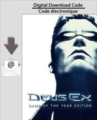 PC Deus Ex:Game of the Year Edition [Download]