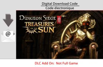 PC Dungeon Siege III: Treasures of the Sun [Download]