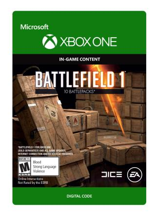 Xbox One Battlefield 1: Battlepack X 10 [Download]