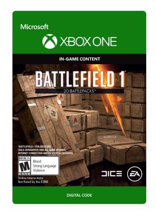 Xbox One Battlefield 1: Battlepack X 20 [Download]