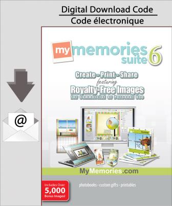 PC MyMemories Suite v6 with Creativity Collection [Download]