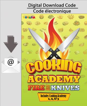 PC Cooking Academy: Fire and Knives (1,2, & 3) [Download]
