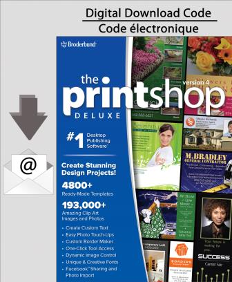 PC Print Shop 4.0 Deluxe [Download]