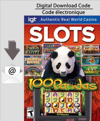 PC IGT Slots: 100 Pandas [Download]