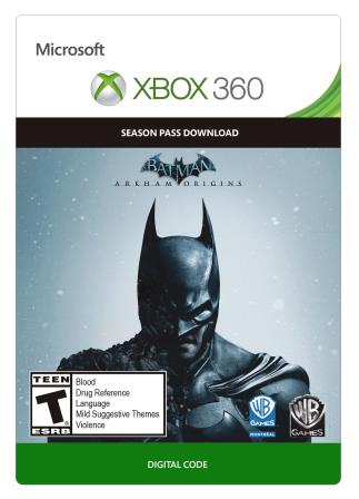 Xbox 360 Batman: Arkham Origins Season Pass [Download]