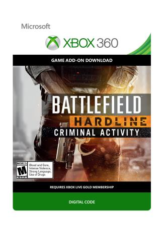 Xbox 360 Battlefield Hardline Criminal Activity [Download]
