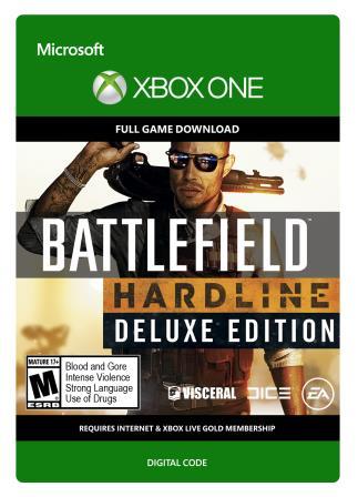 Xbox One Battlefield Hardline Deluxe [Download]
