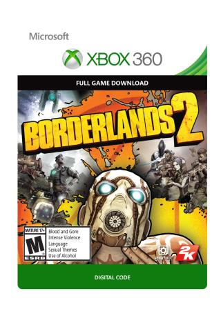 Xbox 360 Borderlands 2 [Download]