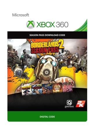 Xbox 360 Borderlands 2 Season Pass [Download]