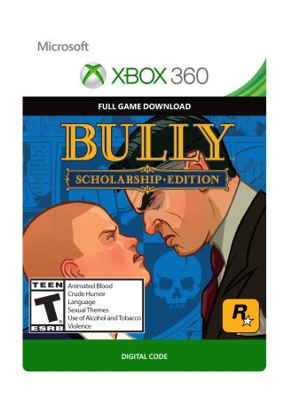 Xbox 360 Bully Scholarship Edition  [Download]