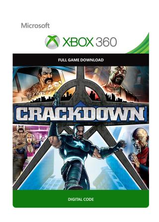 Xbox 360 Crackdown [Download]