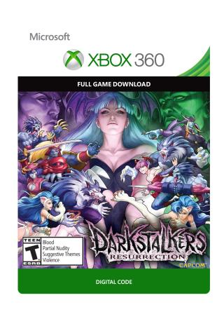 Xbox 360 Darkstalkers Resurrection [Download]