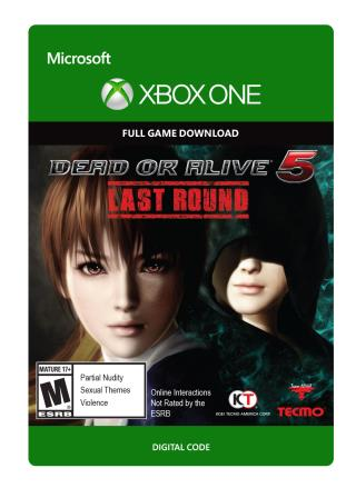 Xbox One Dead or Alive 5 Last Round  [Download]