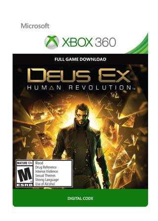 Xbox 360 Deus Ex: Human Revolution [Download]