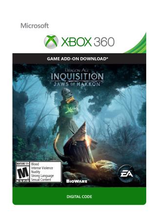 Xbox 360 Dragon Age: Inquisition DLC: Jaws of Hakkon [Download]