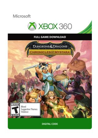 Xbox 360 Dungeon & Dragons: Chronicles of Mystara  [Download]