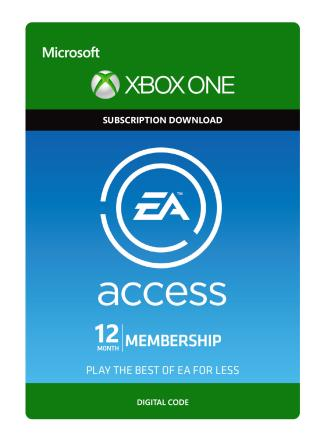 Xbox One EA Access 12 Month Subscription [Download]