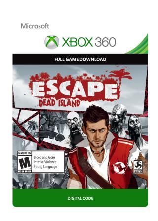 XBox 360 Escape Dead Island [Download]