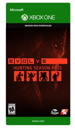 Xbox One Evolve Hunting Season 1 Season Pass [Download]