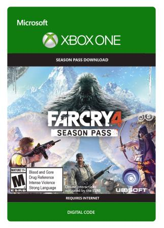 Xbox One Far Cry 4 - Season Pass [Download]