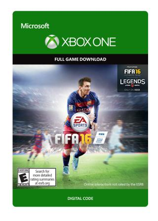 Xbox One FIFA 16 Standard Edition [Download]