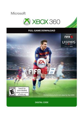 Xbox 360 FIFA 16 Standard Edition [Download]