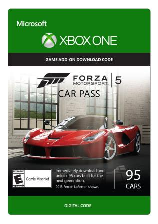 Xbox One Forza Motorsport 5: Car Pass [Download]