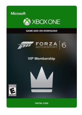 Xbox One Forza Motorsport 6: VIP Membership  [Download]