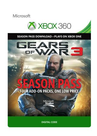 Xbox 360 Gears of War 3: Season Pass [Download]