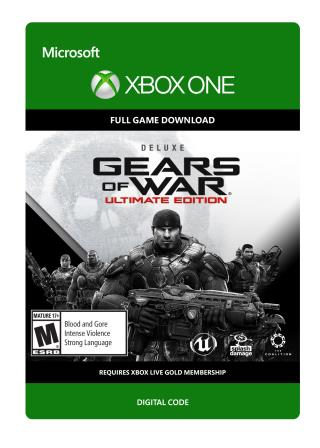 Xbox One Gears of War:  Ultimate Edition Deluxe Version  [Download]
