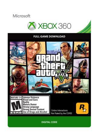 Xbox 360 Grand Theft Auto V [Download]