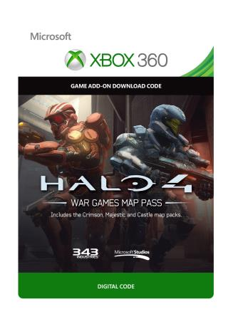 Xbox 360 Halo 4: War Games Map Pass [Download]