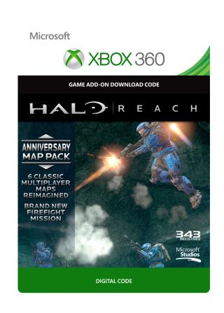 Xbox 360 Halo Reach: Anniversary Map Pack [Download]