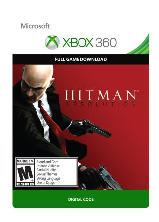 Xbox 360 Hitman: Absolution [Download]