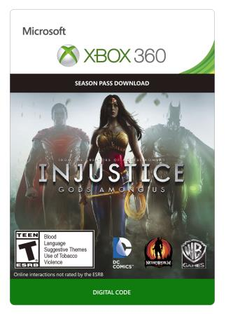 Xbox 360 Injustice: Gods Among Us Season Pass [Download]