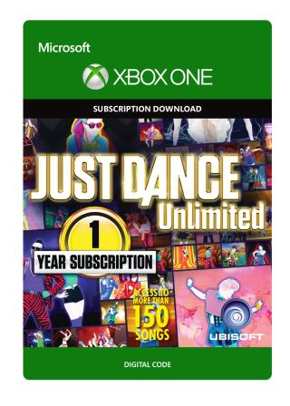 Xbox One Just Dance Unlimited: 1 Year Subscription [Download]