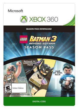 Xbox 360 Lego Batman 3 Season Pass [Download]