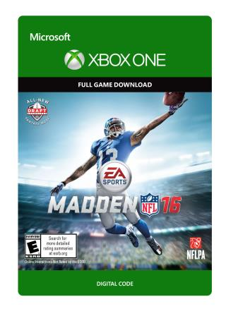 Xbox One Madden NFL 16  [Download]