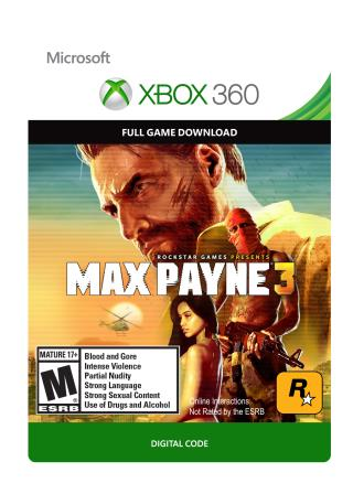 Xbox 360 Max Payne 3  [Download]
