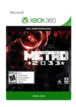 XBox 360 Metro 2033 [Download]