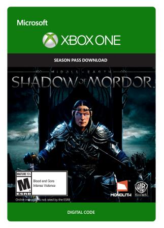 Xbox One Middle Earth: Shadow of Mordor Season Pass [Download]