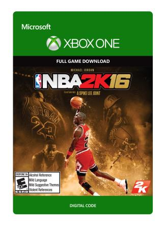 Xbox One NBA 2K16 Michael Jordan Special Edition [Download]