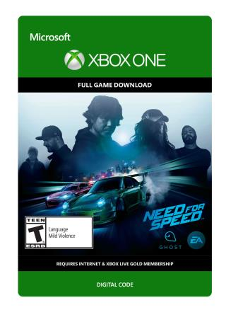 Xbox One Need For Speed Standard Edition [Download]