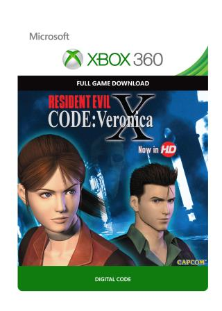 Xbox 360 Resident Evil Code: Veronica X  [Download]