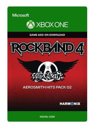 Xbox One Rock Band 4: Aerosmith Hits Pack 02 [Download]