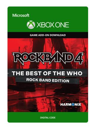 Xbox One Rock Band 4: The Best of The Who: Rock Band Edition [Download]